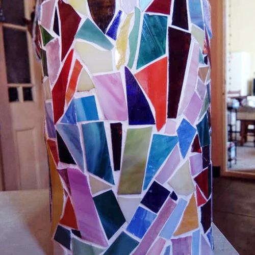 Mosaic Tin
