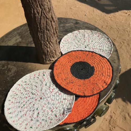 Plastic Crochet Placemats